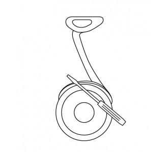 Устранение ошибки №14 (ручка газа) для Ninebot Segway Kikscooter