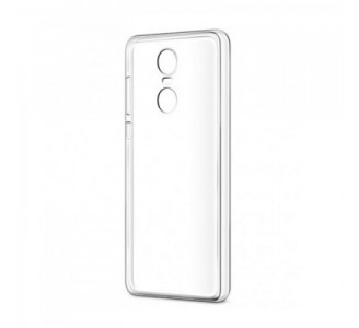 Силиконовый чехол для Redmi 5 Plus (прозрачный)
