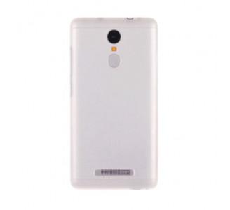 Силиконовый бампер для Xiaomi Redmi Note 3 (белый)